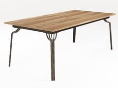 Tavolo allungabile da pranzo rettangolare in legnoMING | Tavolo rettangolare - BAREL