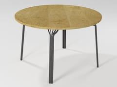 Tavolo da pranzo rotondo in legnoMING | Tavolo in legno - BAREL