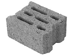M.v.b., MINI 20 Blocco portante in calcestruzzo