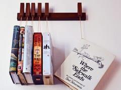 Libreria a parete in legno masselloMINI BOOK RACK | Libreria in noce - AGUSTAV