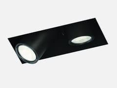 Faretto a LED rettangolare in metallo da incassoMINI SIGHT 2M - LUCIFERO'S