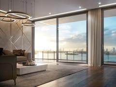 Porta-finestra alzante scorrevole in legnoMINIMAL | Porta-finestra in legno - BG LEGNO