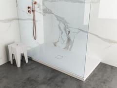 Piatto doccia rettangolare in Solid SurfaceMINIMUM - MOMA DESIGN BY ARCHIPLAST