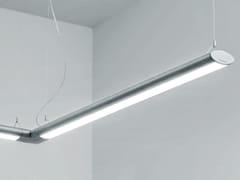 Lampada a sospensione a LED a luce diretta e indiretta in alluminio estruso MINIVEGA | Lampada a sospensione a luce diretta e indiretta - Minivega