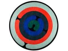 Tappeto fatto a mano rotondo in lanaMINOTOR | Tappeto rotondo - DIACASAN EDITION