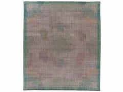 Tappeto fatto a mano rettangolare MIRAGE GREEN - Meteo