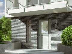 Porta d'ingresso blindata con pannelli in vetroMIRAMARE - SCRIGNO