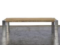 Tavolo da pranzo rettangolare in legno di recuperoMIS - A&B ROSA DEI LEGNI BY ANTICA EDILIZIA