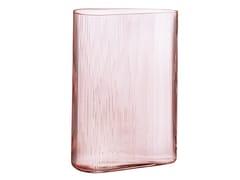 Vaso fatto a mano in cristalloMIST SHORT DUSTY ROSE - NUDE
