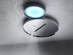 Soffione doccia a soffitto con 2 getti con illuminazione NINFEA | Soffione doccia con getto nebulizzato - Ninfea