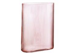 Vaso fatto a mano in cristalloMIST TALL DUSTY ROSE - NUDE