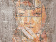 Carta da parati effetto muro gommata lavabileMISTERY - TECNOGRAFICA