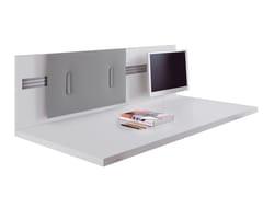 Pannello divisorio da scrivania fonoassorbente in tessuto MITESCO | Pannello divisorio da scrivania - Snowsound