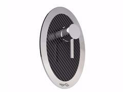 Miscelatore per doccia in acciaio inox MIX CARBON O - Mix