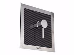Miscelatore per doccia in acciaio inox MIX CARBON Q - Mix
