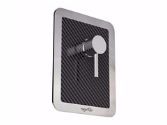 Miscelatore per doccia in acciaio inox MIX CARBON RS - Mix