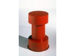 Tavolino rotondo in legno Mobile 5-C - Ettore Sottsass Limited Edition