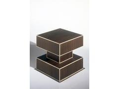 Tavolino quadrato in legno Mobile 5-F - Ettore Sottsass Limited Edition