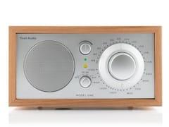Radio in legnoTIVOLI AUDIO - MODEL ONE Cherry/Silver - ARCHIPRODUCTS.COM