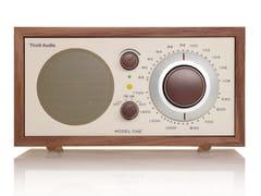 Radio BluetoothTIVOLI AUDIO - MODEL ONE BT Walnut/Beige - ARCHIPRODUCTS.COM