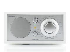 RadioTIVOLI AUDIO - MODEL ONE White/Silver - ARCHIPRODUCTS.COM