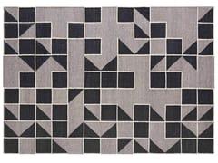 Tappeto fatto a mano rettangolare in lana a motivi geometriciMODICA GREY - GAN BY GANDIA BLASCO