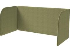 Pannello divisorio da scrivania in tessutoMODO DESK - GRADO DESIGN FURNITURES