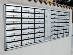 Alubox, MODULAR | Cassetta postale da incasso  Cassetta postale da incasso