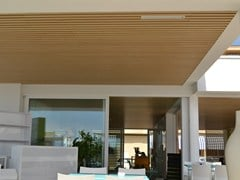 WOODN INDUSTRIES, MODULATUS | Controsoffitto outdoor  Controsoffitto outdoor