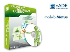 Software valutazione rischi movimentazione manuale carichimodulo MOTUS - EPC