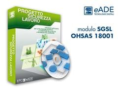 EPC, modulo SGSL OHSAS 18001 Banca dati, scheda lavorazione sicurezza