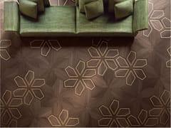 FOGLIE D'ORO, MODULO DESIGN AZALEA Pavimento geometrico in legno