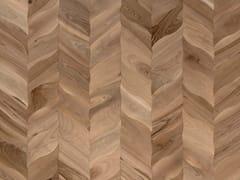 FOGLIE D'ORO, MODULO DESIGN PETALI Pavimento in legno
