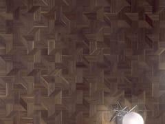 FOGLIE D'ORO, MODULO DESIGN TRICOT Parquet intarsiato in legno