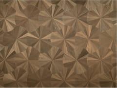 Pavimento geometrico in legnoMODULO DESIGN VENTAGLIO - LATIFOGLIA