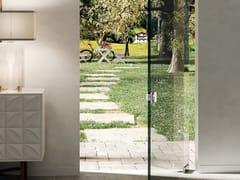 Metalglas Bonomi, Modulo Quadro per forti spessori Cerniera per porte in vetro