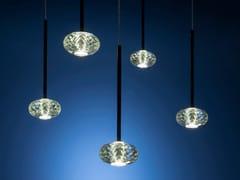 Lampada a sospensione a LED in cristalloMOGHUL | Lampada a sospensione - ALBUM ITALIA