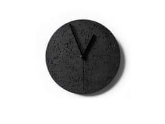 Orologio in pietra lavica da pareteMOMENT | Orologio da parete - BUZAO