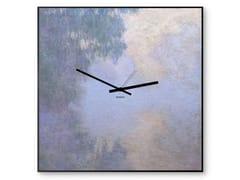 Orologio in lamiera stampata da pareteMONET - DESIGNOBJECT.IT