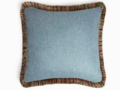 Cuscino a tinta unita quadrato sfoderabileMONGOLIA | Cuscino quadrato - LO DESIGN