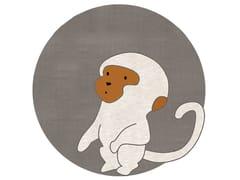 Tappeto rotondo in cotone per bambiniMONKEY - UN TAPIS À PARIS
