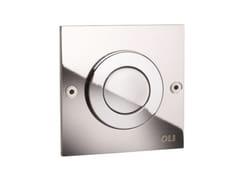 Placca di comando per wc in metallo in stile modernoMONO TREND - OLI
