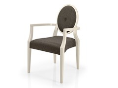 Sedia impilabile in tessuto con braccioli MONOLISA | Sedia da ristorante - Monolisa