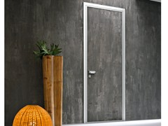Porta d'ingresso blindata con cerniere a scomparsa MONOLITE - 15.1021 MNT6000 - Design Collection - Monolite