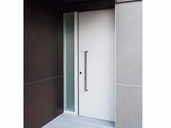 Porta d'ingresso blindata con pannelli in vetro MONOLITE - 15.1009 MNT6000 - Design Collection - Monolite