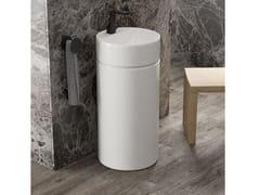 Lavabo freestanding rotondo in ceramicaMONOTWIN SLIM   Lavabo rotondo - CERAMICA FLAMINIA