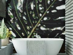 Mosaico in vetro riciclatoMONSTERA - TRUFLE MOZAIKI