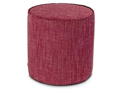 Pouf cilindro in twill unito MOOMBA | Pouf - Winter Flame