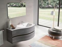 Mobile lavabo sospeso con specchioMOON 03 - BMT