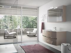 Mobile lavabo sospeso con specchioMOON 05 - BMT